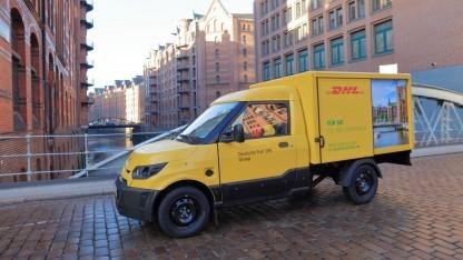 Elektrisches Postauto von Streetscooter: Die Reichweite für den Postdienst wurde auf 80 km festgelegt.