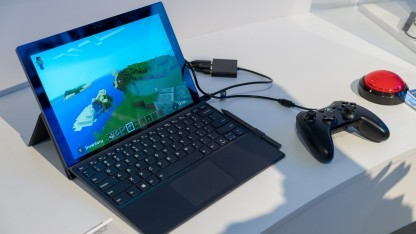 Lenovos ARM-PC mit Minecraft.