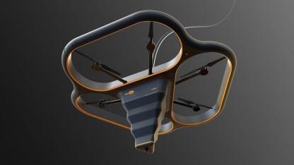 Fliegender 3D-Drucker Fly Elephant: Drohne mit 3D-Drucker-Rüssel