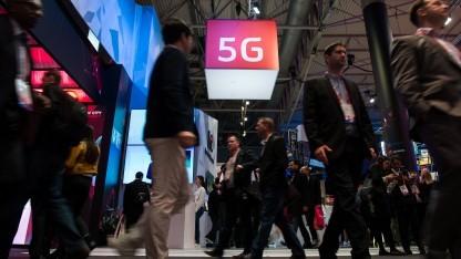 5G-Mobilfunk auf dem Mobile World Congress (MWC) in Barcelona