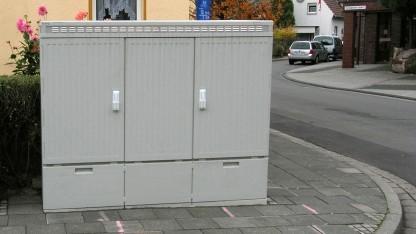 Kabelverzweiger der Deutschen Telekom