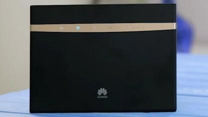 O2-Kunden erhalten beim Homespot-Tarif einen Huawei-LTE-Router dazu.