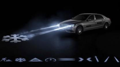 Mercedes-Maybach S-Klasse mit Digital Light