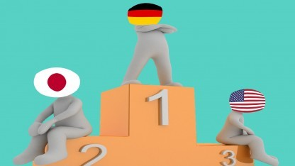 Deutschland liegt laut der BSA vor Japan und den USA in Sachen Cloud-Bereitschaft.