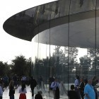 Apples neue Firmenzentrale: Wer im Glashaus arbeitet, knallt auch mal gegen Wände