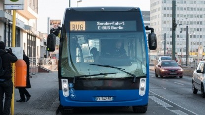 Elektrobus Aptis: klingt wie eine Straßenbahn