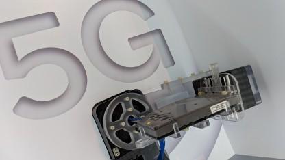 Prototyp eines 5G-Modems von Qualcomm