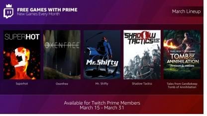 Twitch Free Games With Prime: Spiele-Bundles für Prime-Mitglieder angekündigt