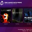 Twitch: Amazon Prime bietet Spiele ohne weitere Zuzahlung