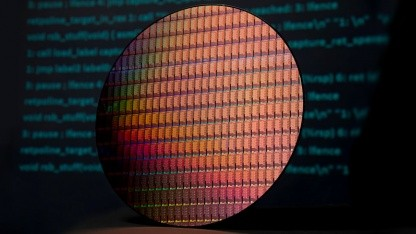 Wafer mit Xeon-SP-Dies