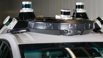 Das lenkradlose Auto von Cruise Automation