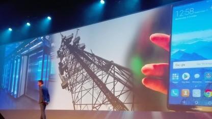 Die drei Geschäftsfelder von Huawei zu sehen in Amsterdam