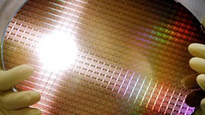 Älteres Bild aus einer Fertigungsanlage für AMD-Prozessoren