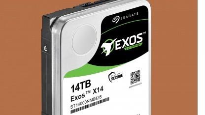 Die Exos X14 kommt im 3,5-Zoll-Gehäuse.