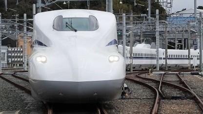 Hochgeschwindigkeitszug Shinkasen Supreme: elf Tonnen Gewicht eingespart
