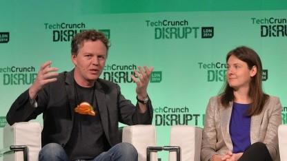 Die Cloudflare-Mitbegründer Matthew Prince und Michelle Zatlyn.