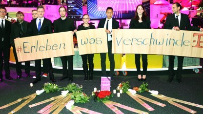 Protest bei T-Systems