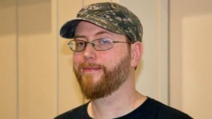Jens Matthies, der Kreativchef von Wolfenstein 2