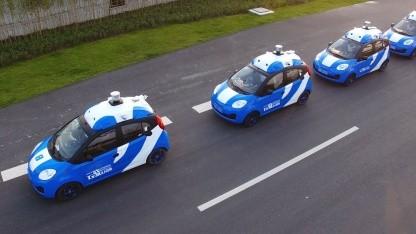 Autonome Autos von Baidu: Die Software Apollo ist Open Source.
