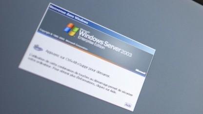 Microsoft sichert seine Server-Betriebssysteme ab.