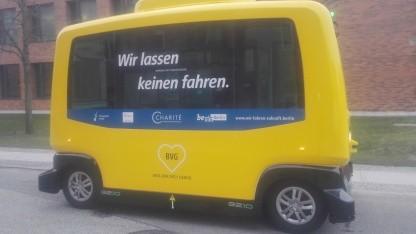 Der autonome Bus der BVG