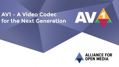 Die Aomedia hat AV1 fertig gestellt.
