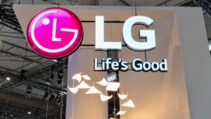 LGs Stand auf dem Mobile World Congress 2018 in Barcelona