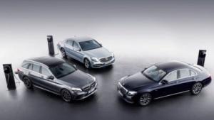 Mercedes setzt auf Diesel-Plugin-Hybride.