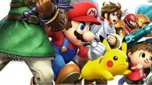 Ältere Artwork von Super Smash Bros.