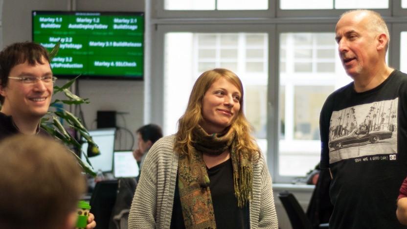 Eva Göttert: Programmierinnen haben oft nur männliche Kollegen.