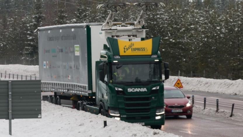 E-Highway in Schweden: Der Feind ist das Aussehen.