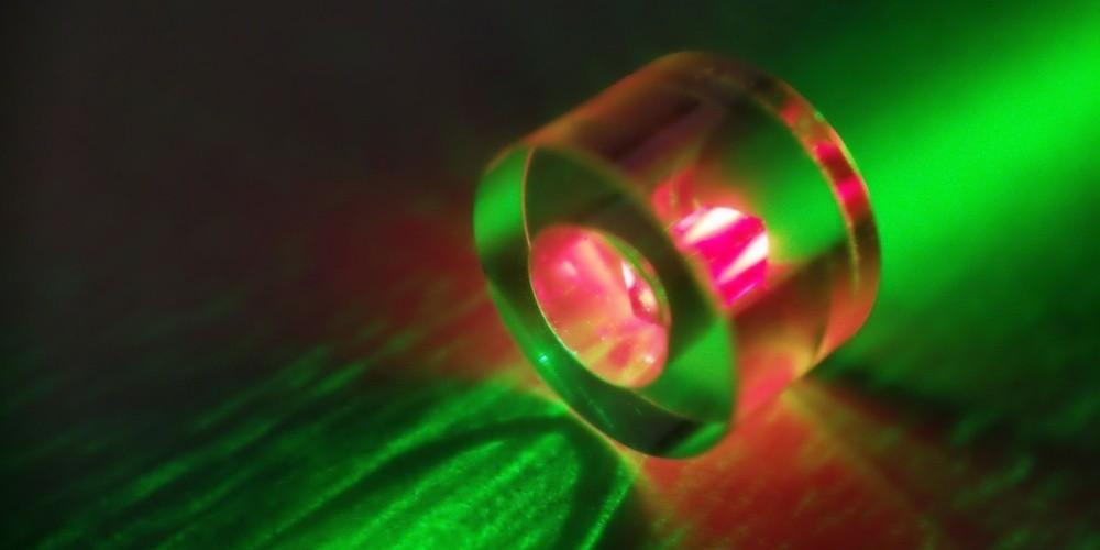 Physik: Maserlicht aus Diamant