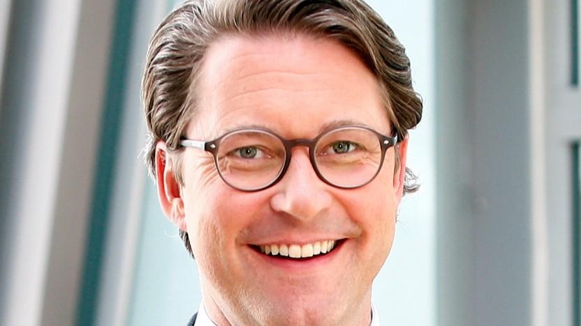 Der neue Bundesverkehrsminister Andreas Scheuer (CSU)