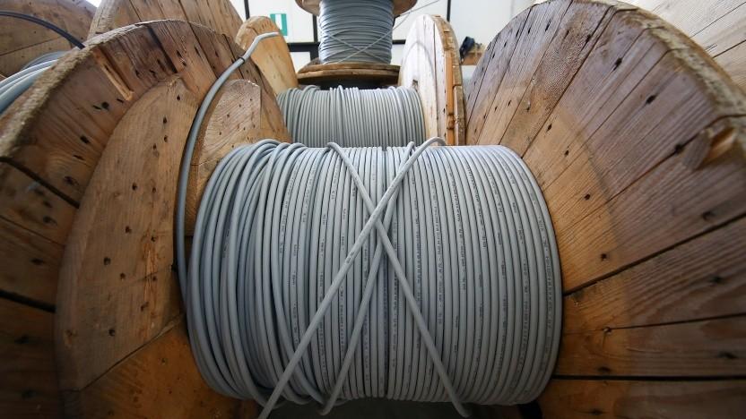 Beim Glasfaserausbau mangelt es an Kapazitäten beim Tiefbau.