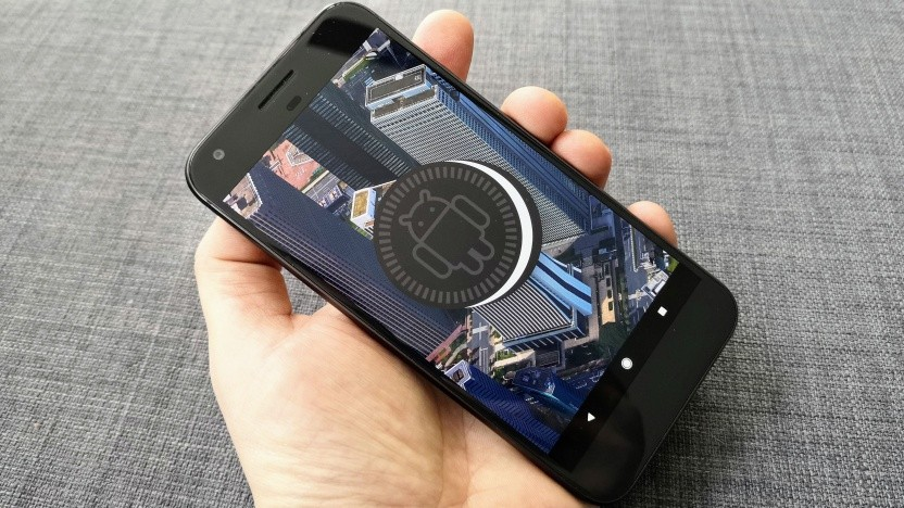 Android 8.1 auf einem Google Pixel XL