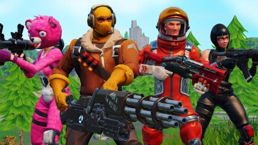 Epic Games Fortnite Battle Royale Ist Auf Ios Erhältlich Golemde