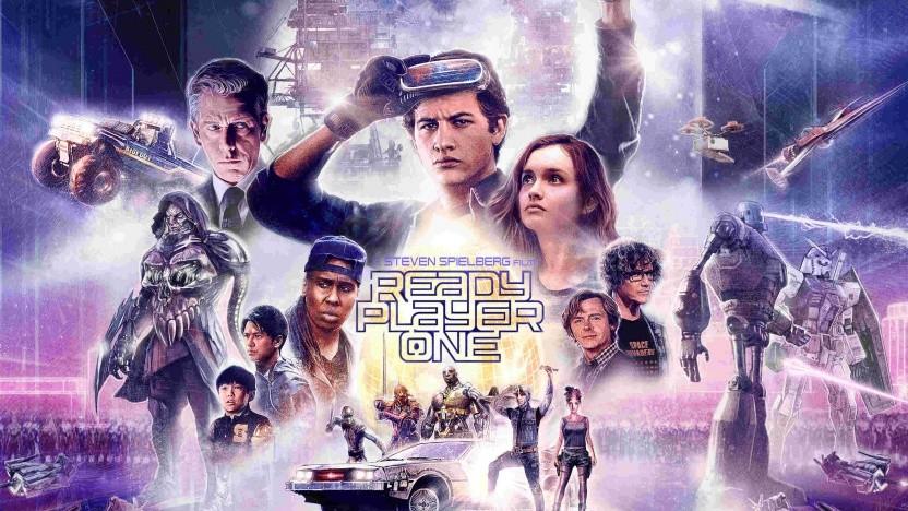 Filmposter von Ready Player One