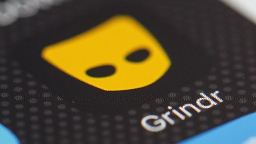 Symbol der App von Grindr