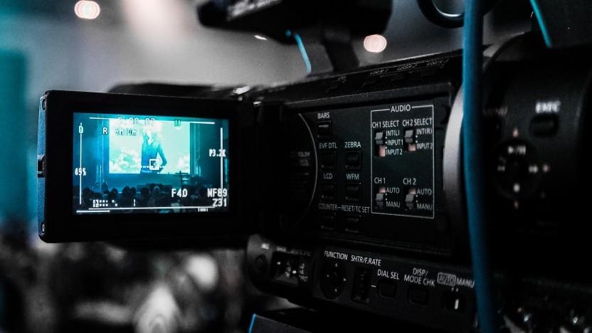 Videokamera (Symbolbild)