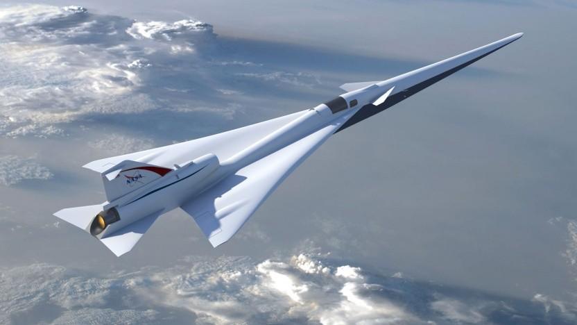 Low-Boom Flight Demonstrator: neue Regeln für Überschallflugzeuge