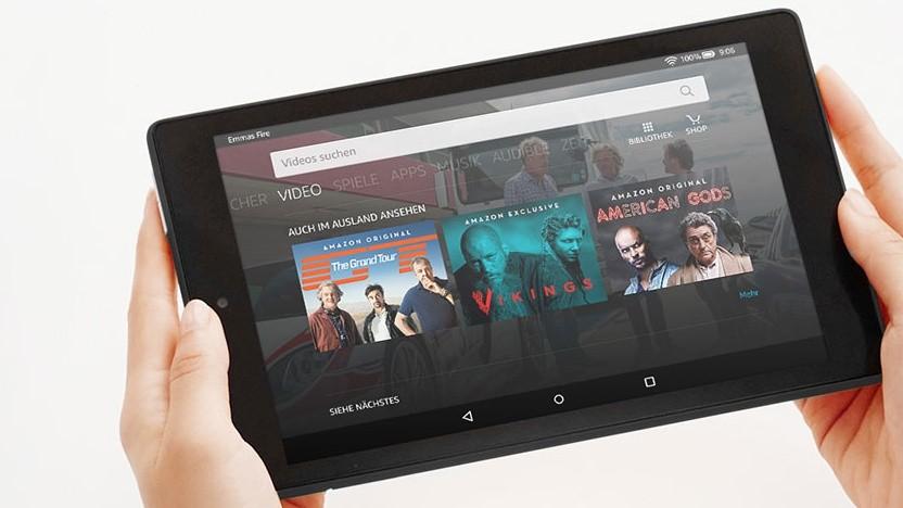 Firmware-Update: Amazons kleine Fire-Tablets können Alexa