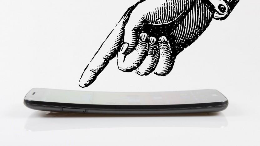 LG G Flex mit gebogenem Display