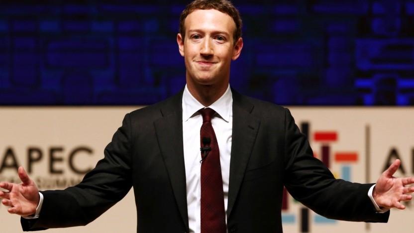 Facebook-Chef Mark Zuckerberg denkt noch nicht ans Aufhören.