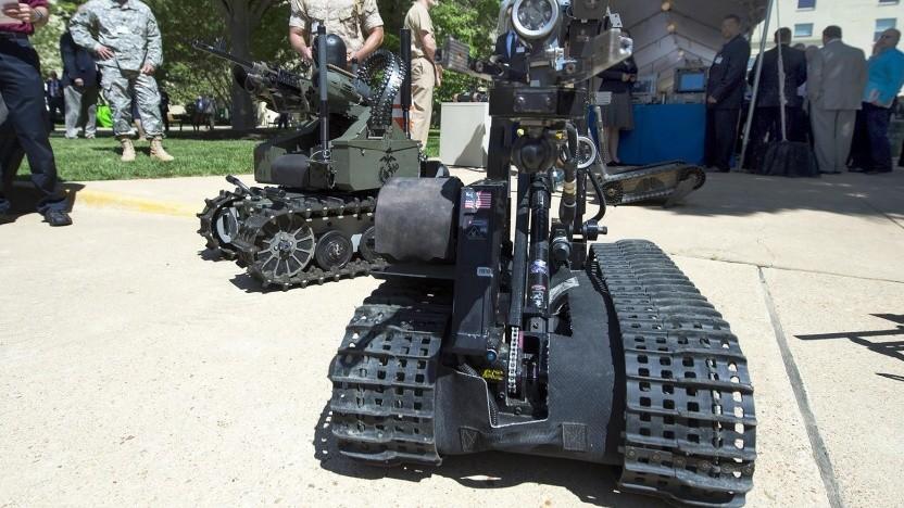 Roboter der US-Armee: keine autonomen Waffen ohne sinnvolle menschliche Kontrolle