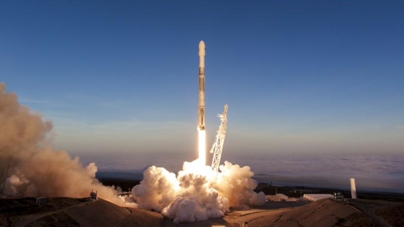 Start der Iridium-5-Mission: Machte der Start der Falcon Heavy die NOAA aufmerksam?