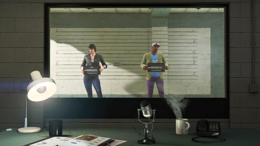 Szene aus der Kampagne von GTA 5.