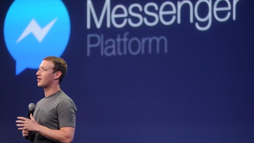 Aus Messenger-Chats mit Mark Zuckerberg werden früher oder später Selbstgespräche.