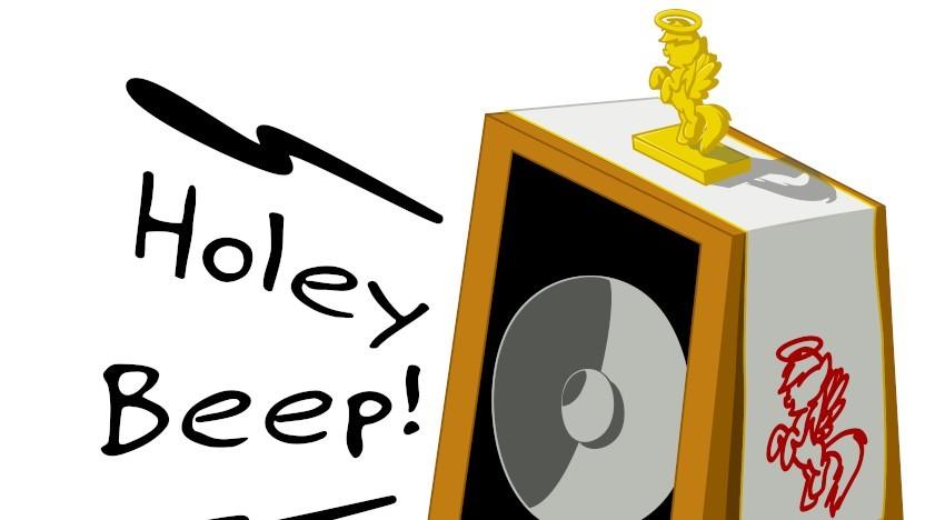 Holey Beep - eine scherzhafte Webseite über eine Sicherheitslücke im Kommandozeilentool beep - verrät gleich noch eine weitere Lücke im Tool Patch.