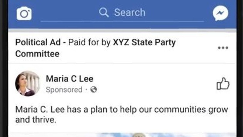 Politische Anzeigen bei Facebook sollen künftig transparenter sein.