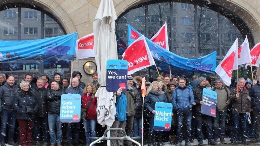 Telekom-Tarifkonflikt: Höhepunkt der deutschen Warnstreiks am Mittwoch